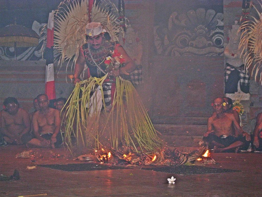 Firewalker, Kecak Dance, Bali