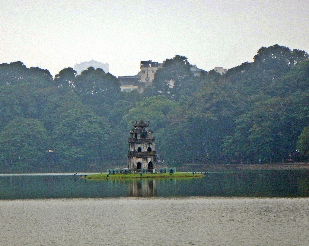 Turtle Tower inHoam Kiem Lake, Hanoi