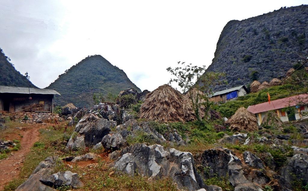 Hmong village, Dong Van Plateau