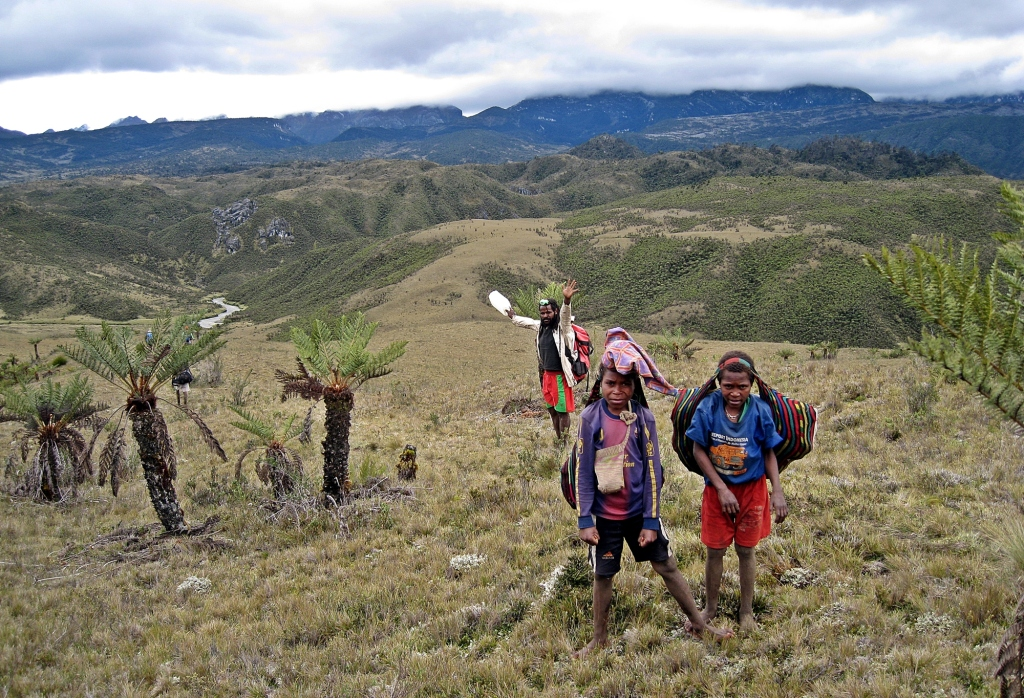Porter's children, Carstensz Pyramid Trek