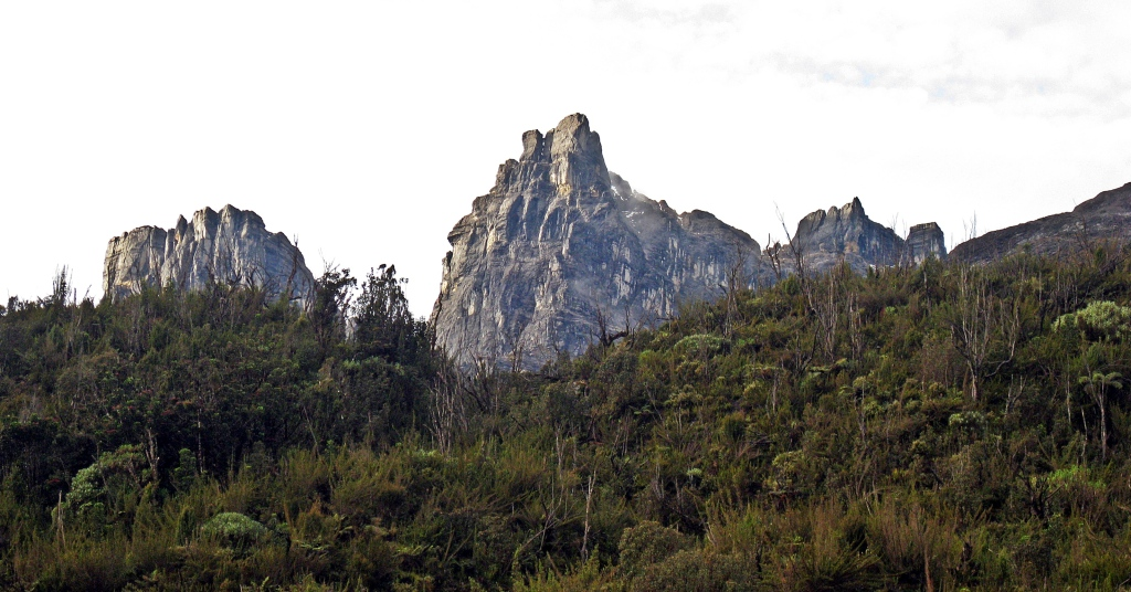 Mountain views, Carstensz Pyramid Trek