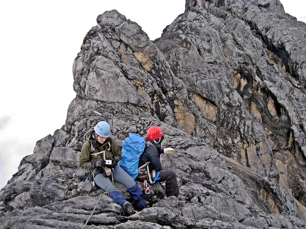 Carstensz Pyramid ridge