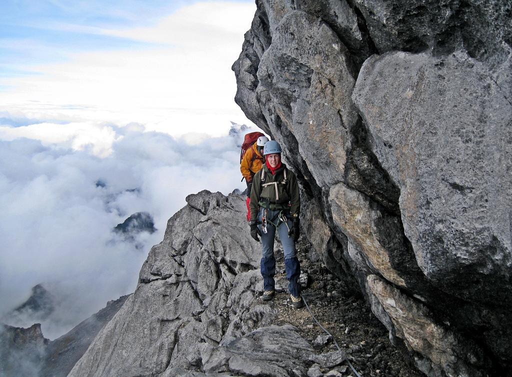 Carstensz Pyramid's ridge