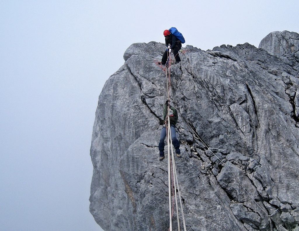 Tyrolean Traverse, Carstensz Pyramid