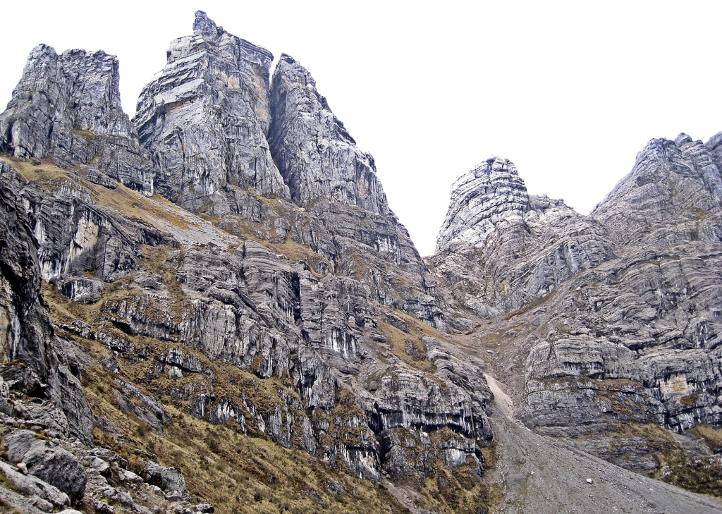 Limestone towers, Carstensz Pyramid Trek