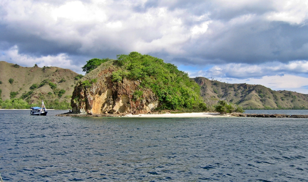 Island in the Flores Sea