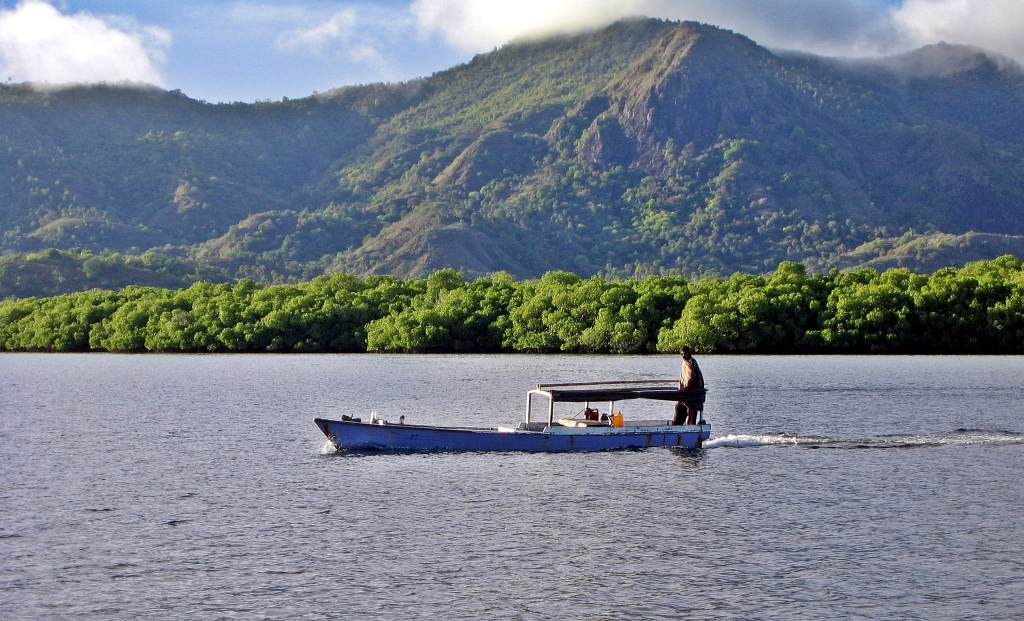 Local fishing boat, Flores Sea
