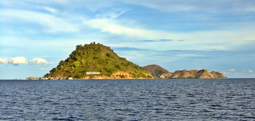 Island on the Flores Sea