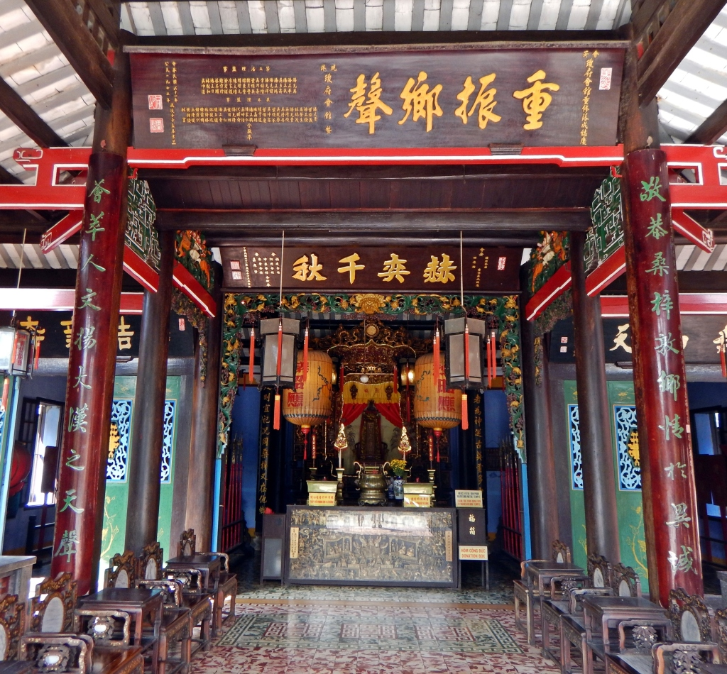 Temple interior, Hoi An