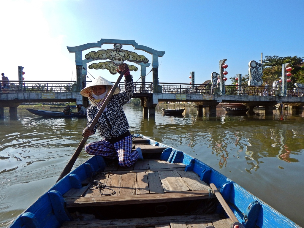 Boat ride, Hoi An