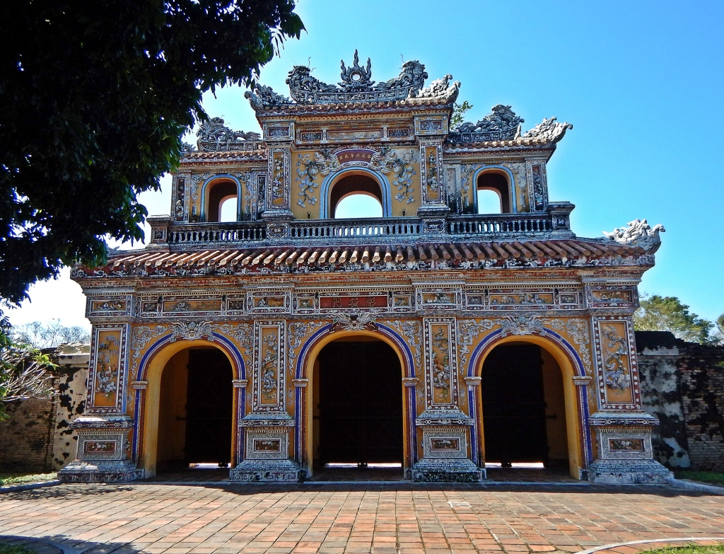 East Gate, the Citadel, Hue