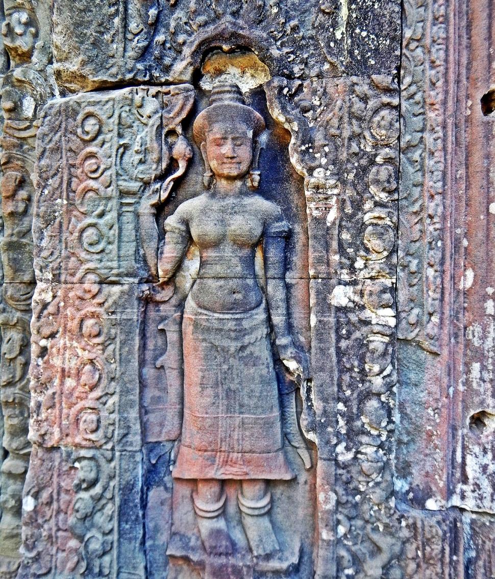 Carving, Preah Khan