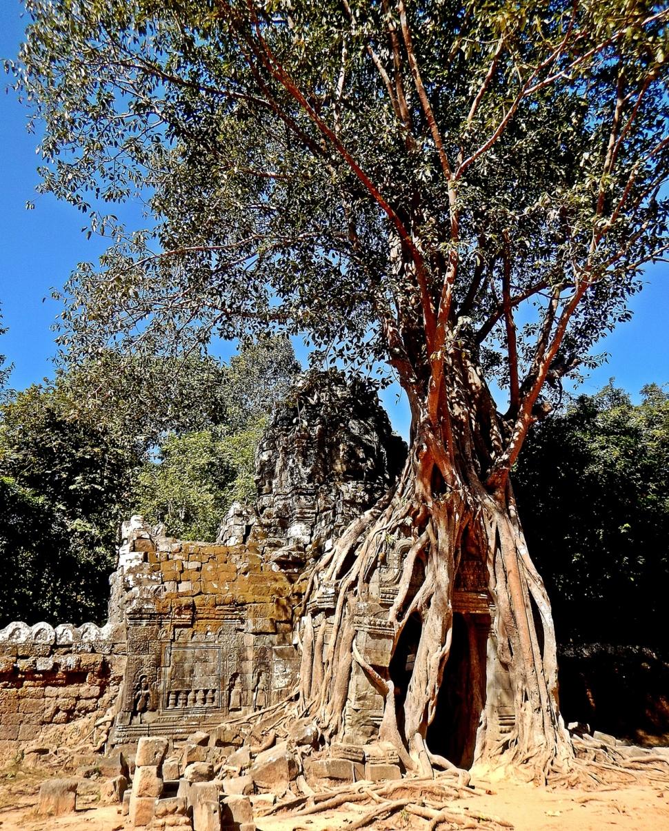 Doorway at Ta Som, Angkor