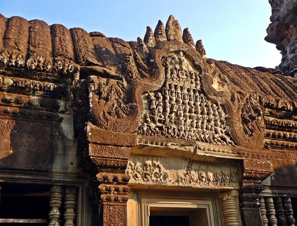 Doorway, Angkor Wat
