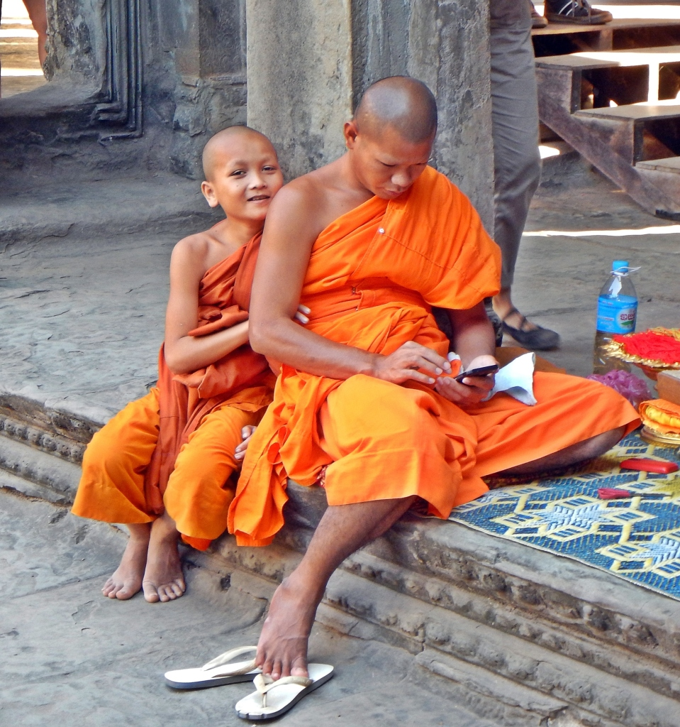 Buddhist Monks, Angkor Wat