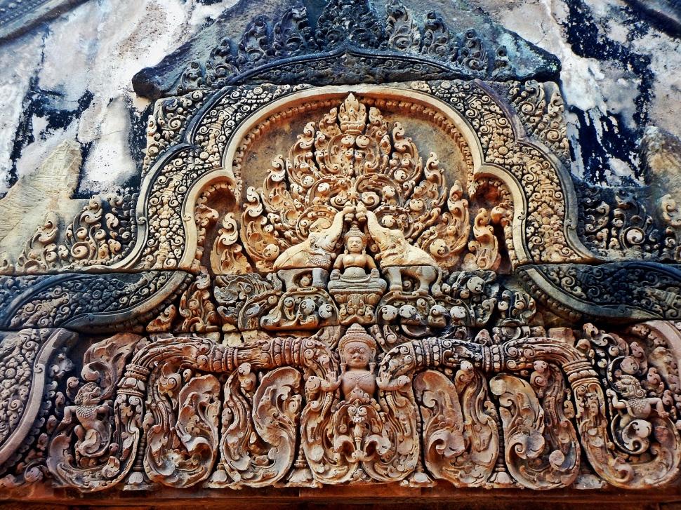 Doorway, Banteay Srei