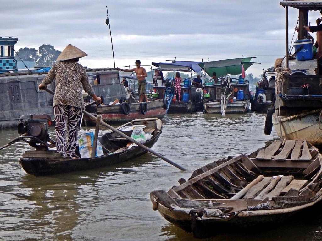 Sampan, Cai Rang Floating Market