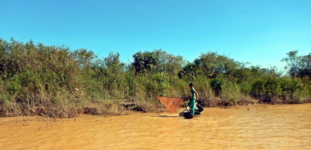 Fishermen, Tonle Sap
