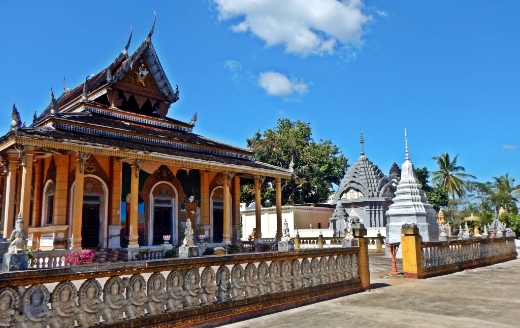 Royal stupas, Royal Palace, Phenom Penh