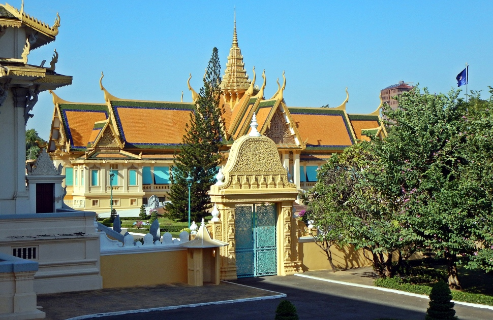 Inside the Royal Complex, Phnom Penh