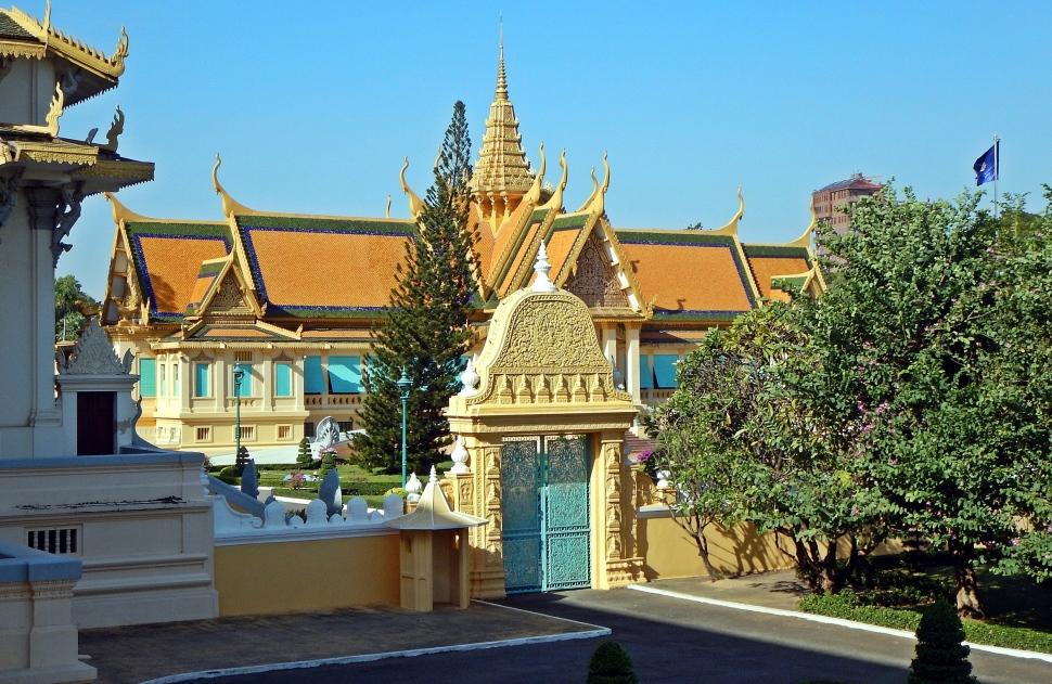 Inside the Royal Complex, Phnom Penh