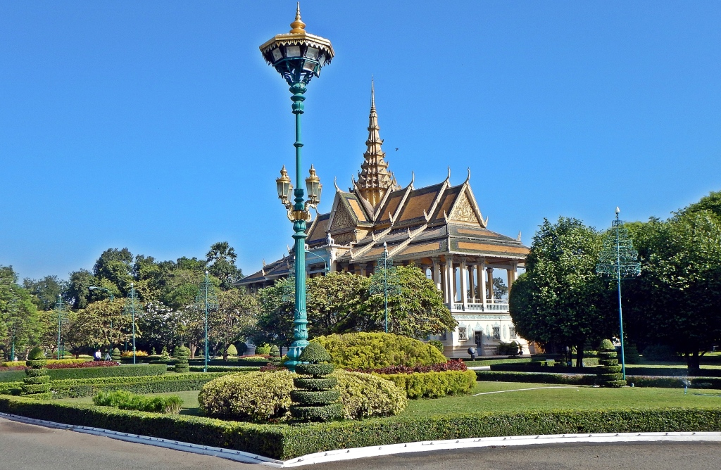 Moonlight Pavilion, Royal Palace, Phenom Penh