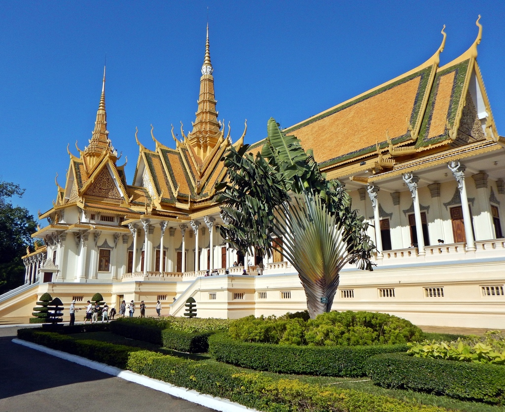 Throne Hall, Royal Palace, Phenom Penh