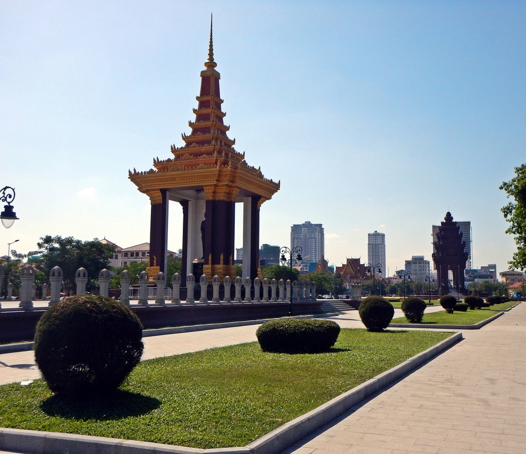 River walk, Phnom Penh