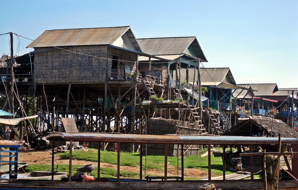 Stilt houses, Chong Khneas