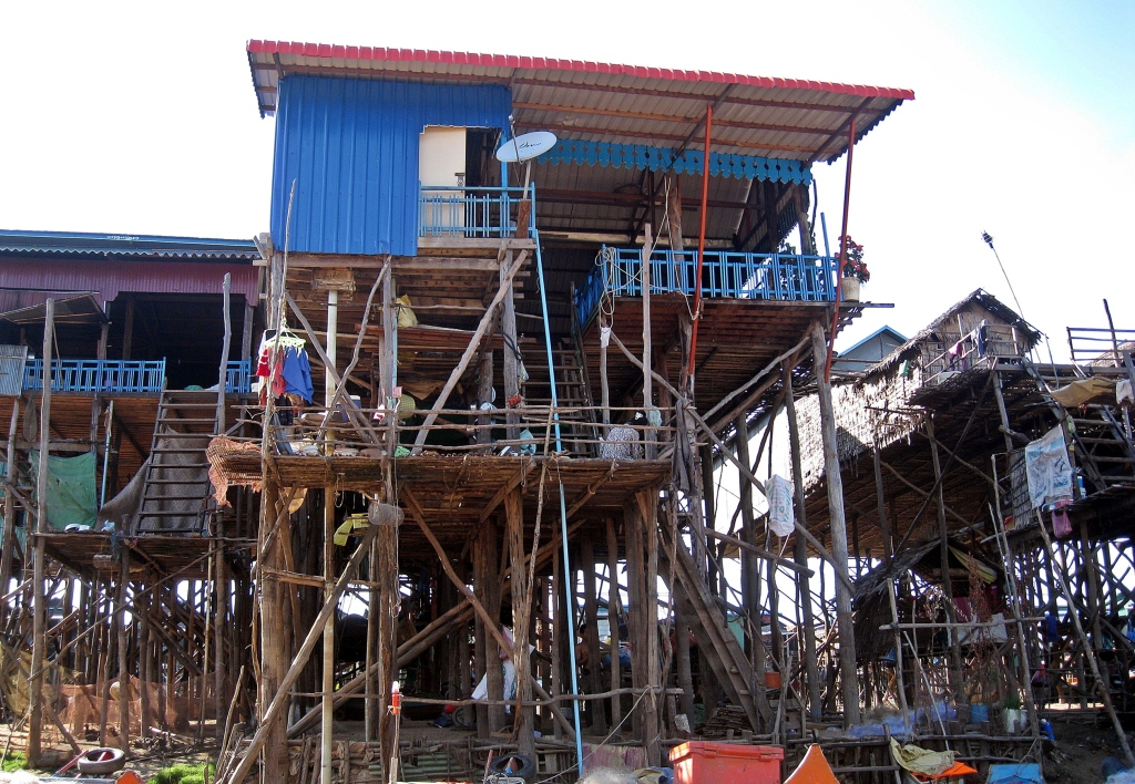 Stilt homes, Chong Khneas