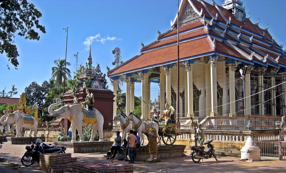 Buddhist Temple, Battambang