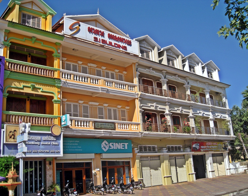 French colonial architecture, Battambang