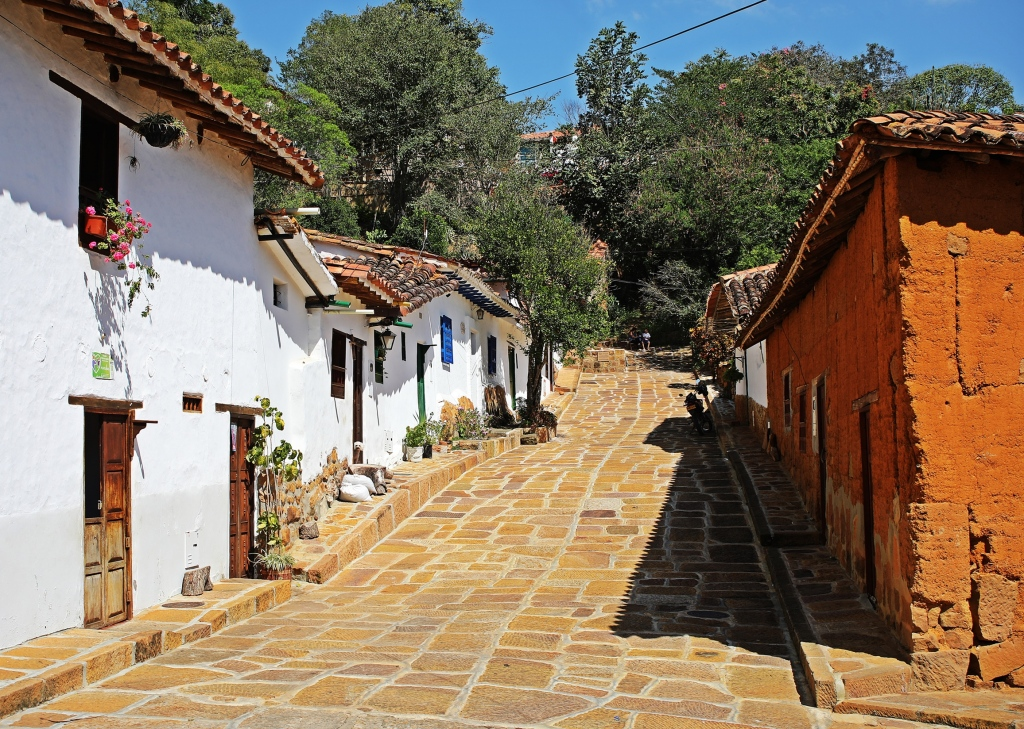 Colonial homes, Barichara