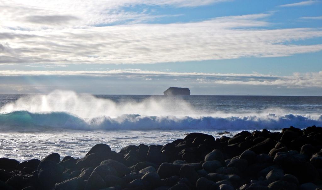 A Galapagos Island coastline