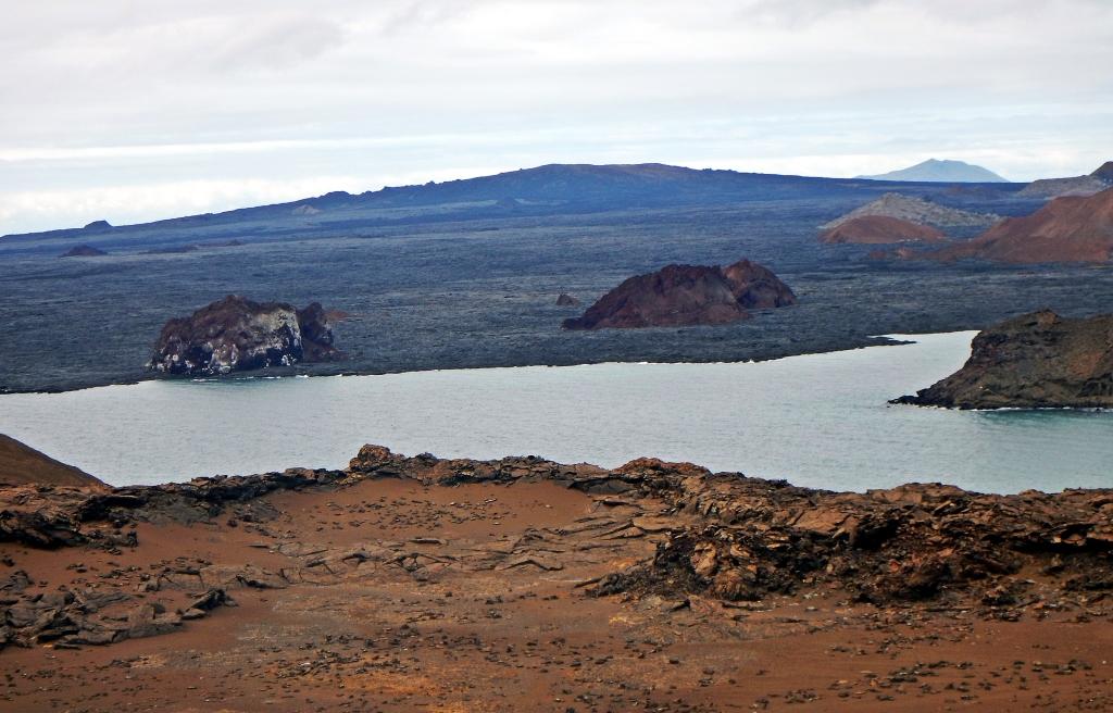 Lava landscape, Galapagos