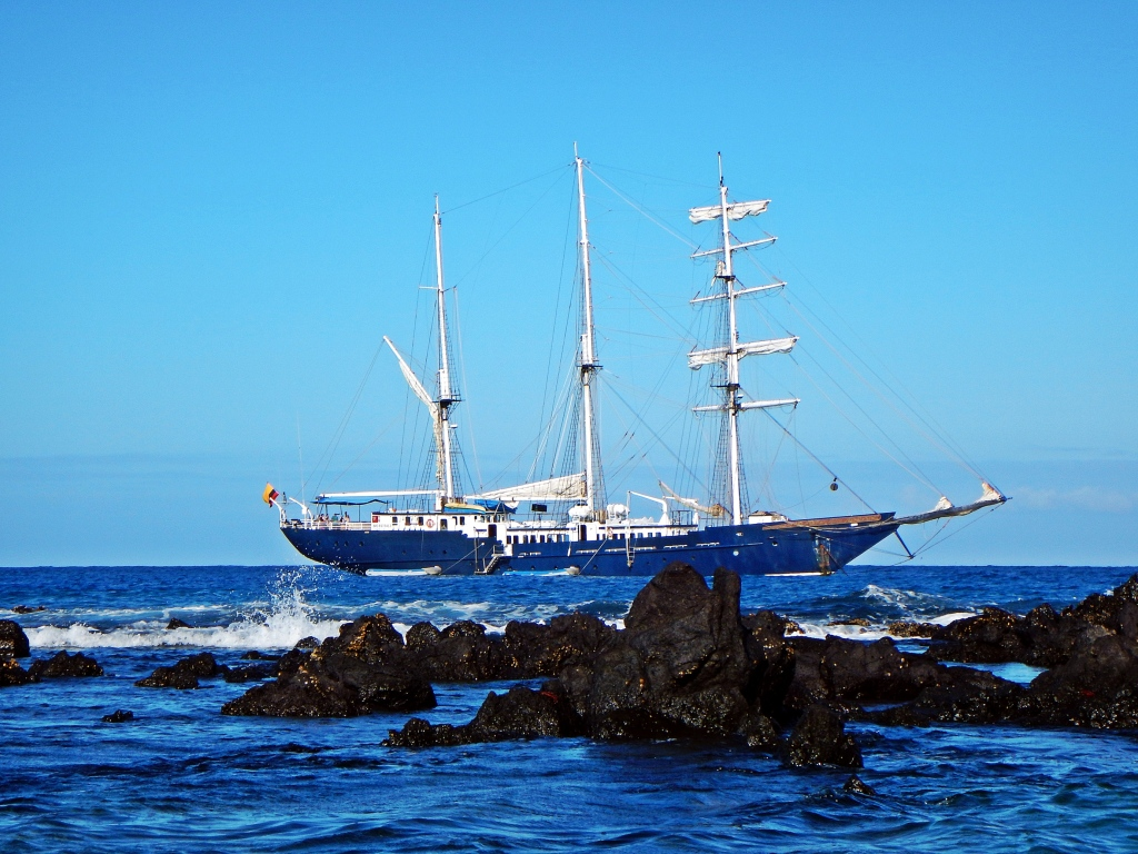 Sailboat, Galapagos