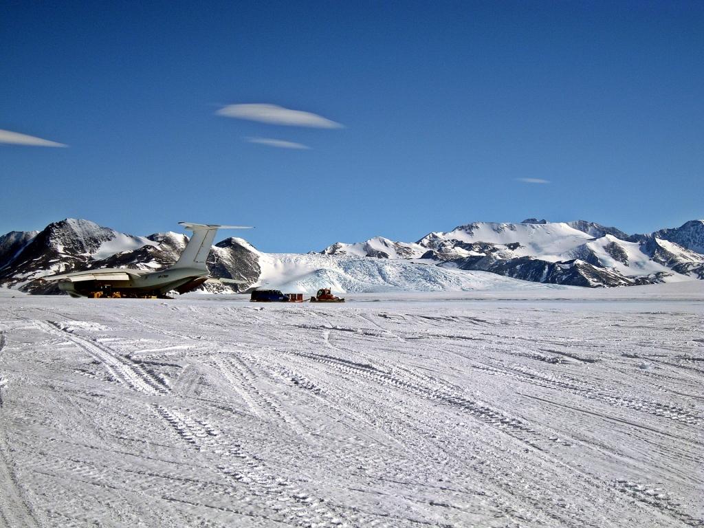 Union Glacier Runway