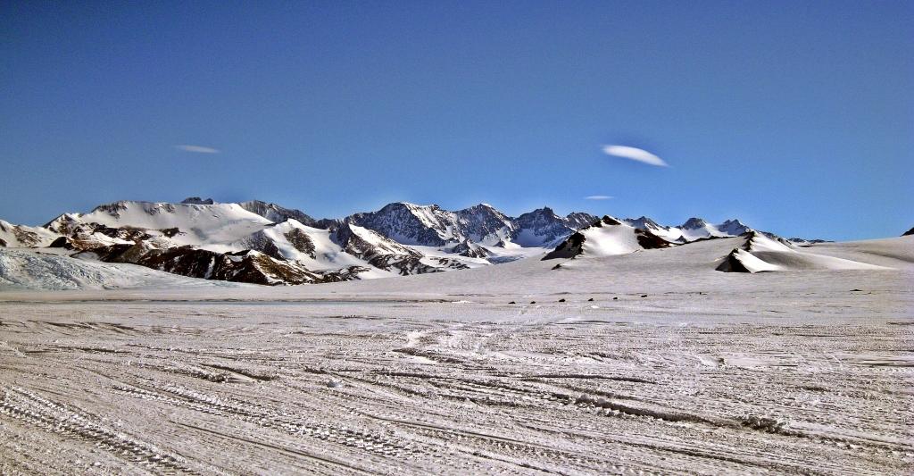 View from Union Glacier