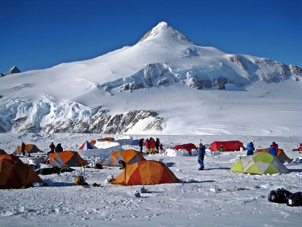 High Camp below Mount Shin
