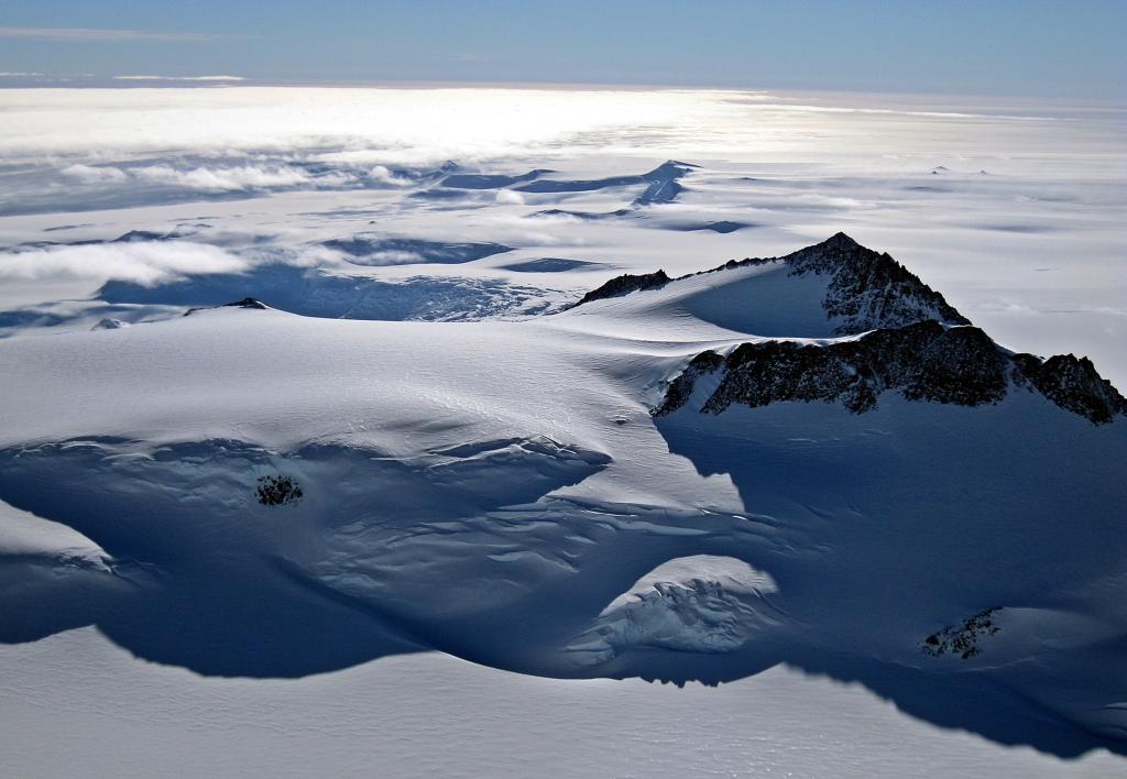 View from summit ridge