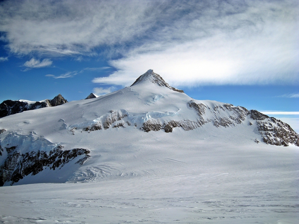 Mount Shin from High Camp