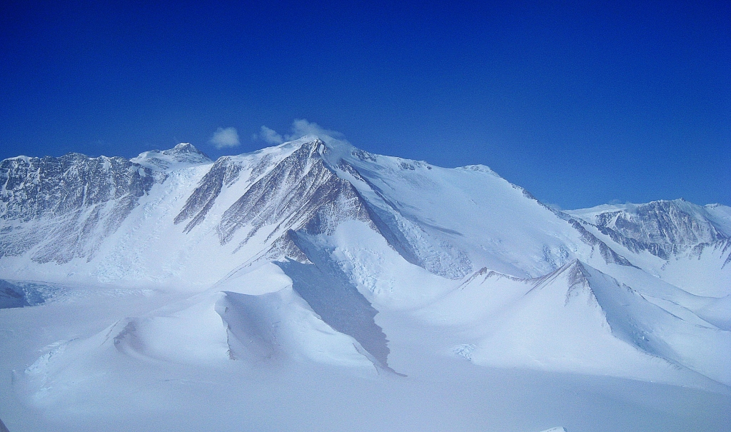 Vinson Massif from a Twin Otter