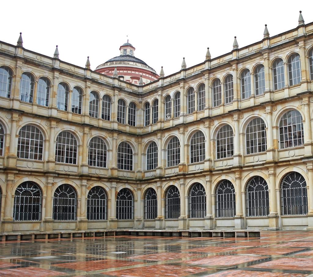 College of St. Bartholomew, Bolivar Square, Bogota