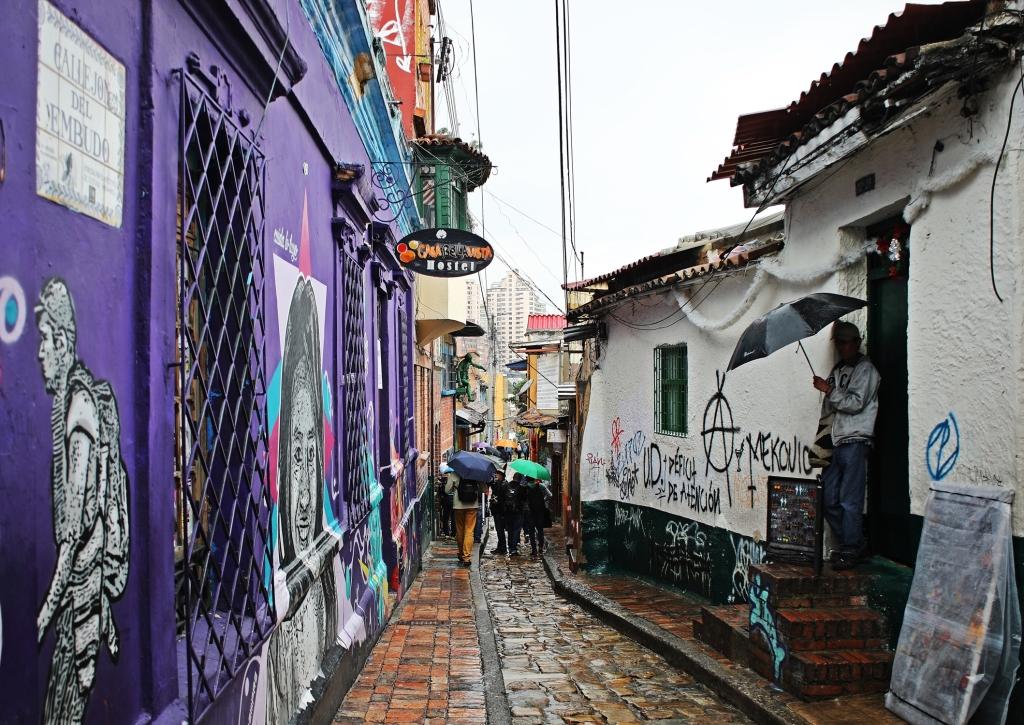 Calle del Embudo, Candalaria, Bogota