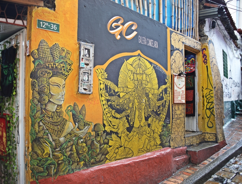 Graffiti art, Candalaria, Bogota
