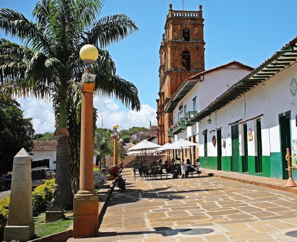Parque Principal, Barichara