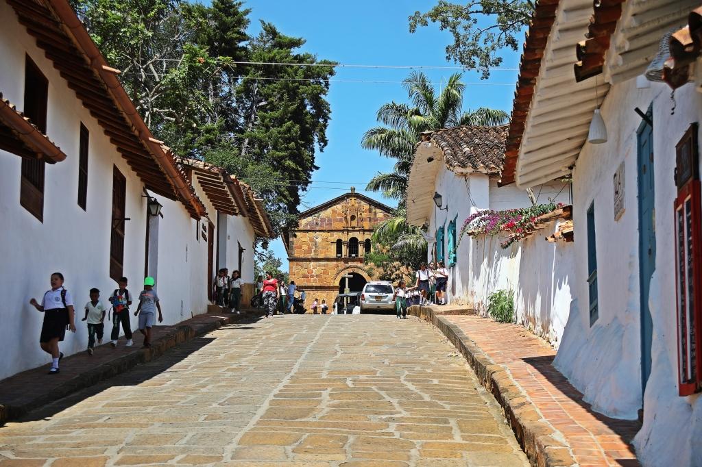Capilla de Santa Barbara, Barichara