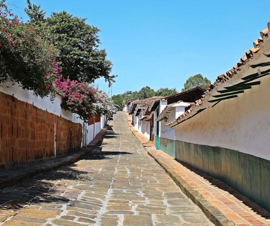 Colonial buildings, Barichara