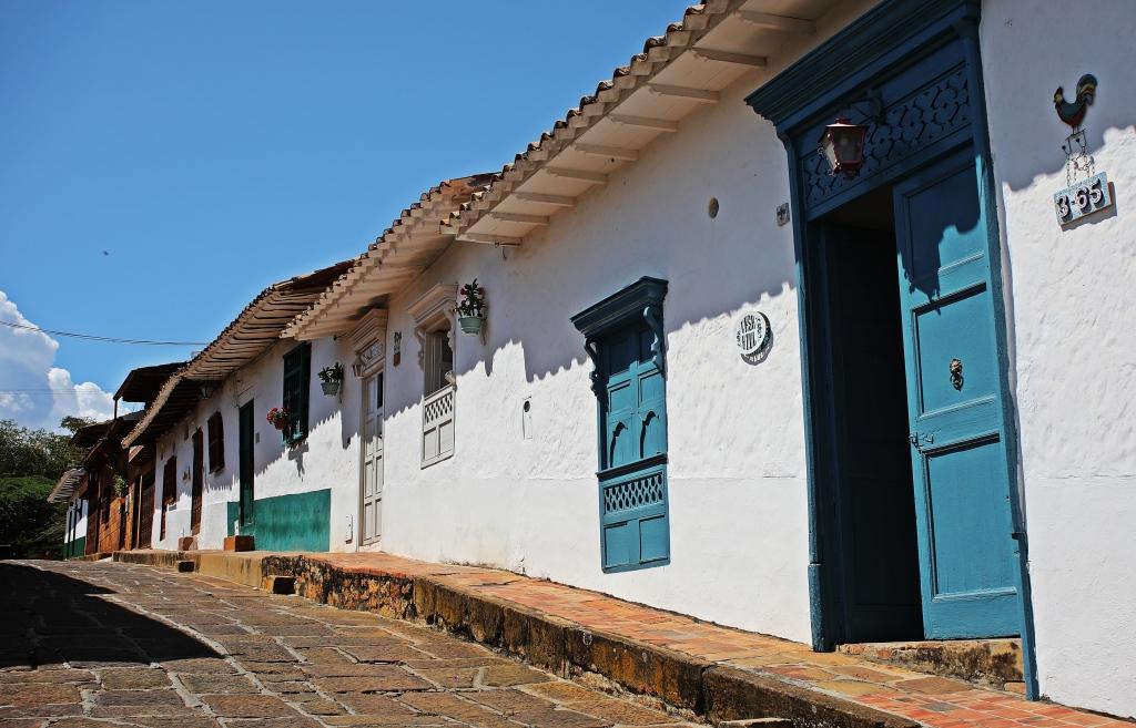 Colonial homes, Barichara