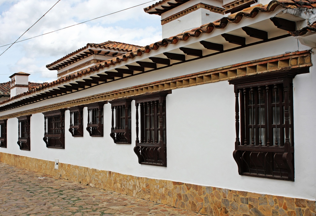 Colonial buildings, Villa de Leyva